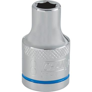 "Channellock Metric 6 Point 1/2"" Drive Socket"