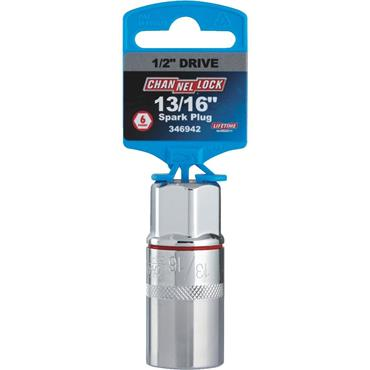 """Channellock Imperial Spark Plug 1/2"""" Drive Socket"""