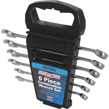 Channellock 309478 6 Piece Metric Combination Wrench Set