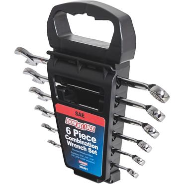 Channellock 309451 6 Piece Imperial Combination Wrench Set