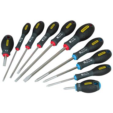 Stanley 5-65-427 10 Piece Mixed FatMax Screwdriver Set