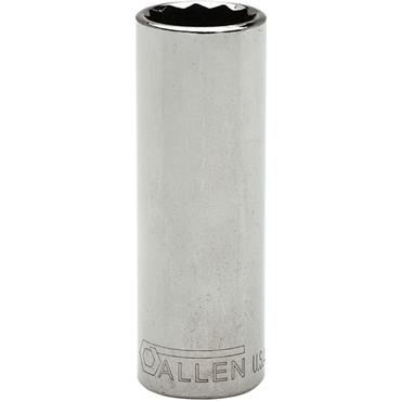 "Allen 327382 Imperial 12 Point Deep 3/8"" Drive Socket"