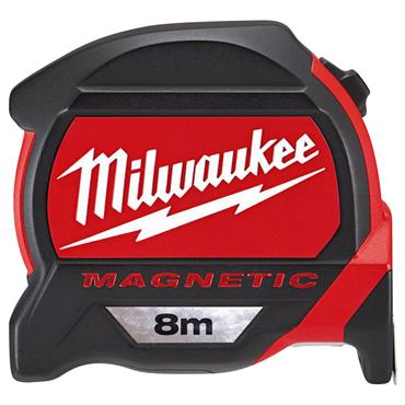 Milwaukee 48227308 8m Premium Magnetic Metric Measuring Tape