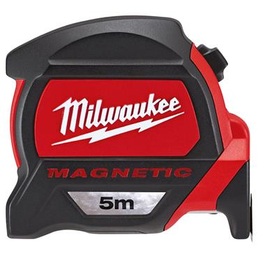 Milwaukee 48227305 5m Premium Magnetic Metric Measuring Tape