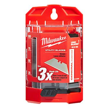 Milwaukee 48-22-1900 100 Piece General Purpose Utility Blade