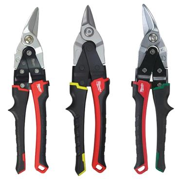 Milwaukee 48224033 3 Piece Aviation Snips Set