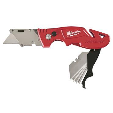 Milwaukee 48221903 Fastback Flip Utility Knife with Blade Storage