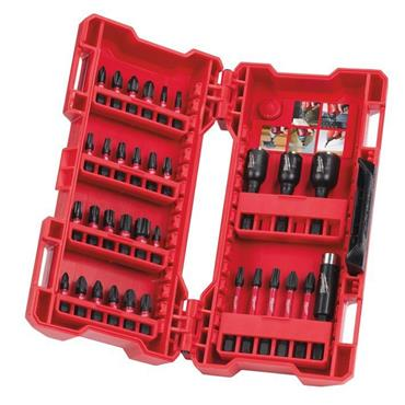 Milwaukee 4932430905 33 Piece Shockwave Bits and Nut Drivers Set