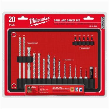 Milwaukee 4932464072 20 Piece Roll Mat Accessory Set