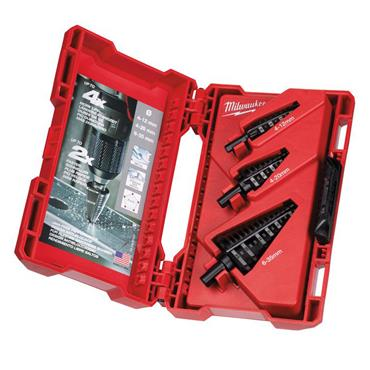 Milwaukee 48899399 3 Piece Step Drill Set