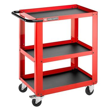 Facom ROLL.UC3S 3 Shelves Mobile Workshop Utility Cart