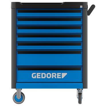 Gedore WHL-L7 7-Drawer Blue/Black Workster Highline Tool Trolley