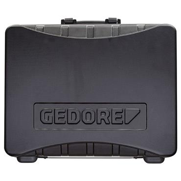 Gedore 490 x 395 x 185mm Black Large Empty Tool Case - WK 1041 L