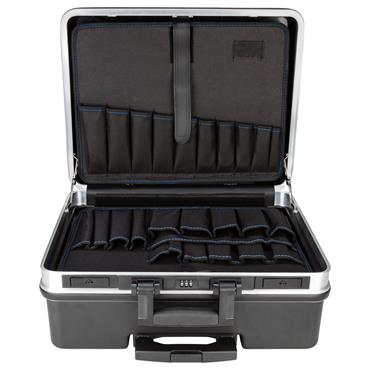 Gedore 490 x 395 x 240mm Black Roller Empty Tool Case - WK 1040 L