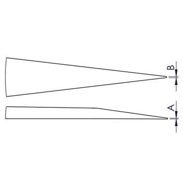 IDEAL - TEK M3.S.1 70mm Mini Tweezers