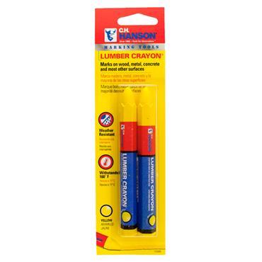 CH Hanson 2 Piece Lumber Crayon