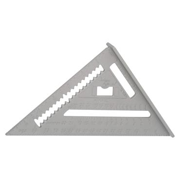 "Johnson Level RAS-1B 7"" Professional Aluminum Rafter Square"