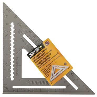 "Johnson Level RAS-120 12"" Aluminium Rafter Angle Square"