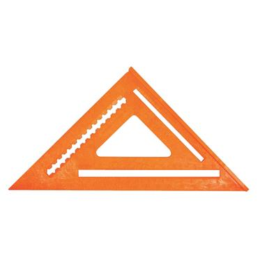 "Johnson Level RAS-170B-ORA 12"" Structo-Cast Rafter Angle Square"