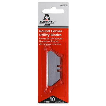 American Line Pro 66-0702 10 Piece Round Corner Utility Blade