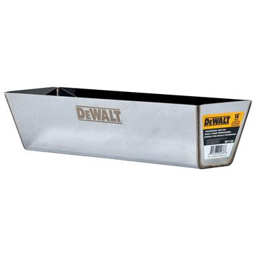"DeWALT 2-334 14"" Stainless Steel Mud Pan"