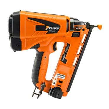 Paslode IM65A F16 Angled Finishing Nailer, 1 x  2.1Ah Batteries