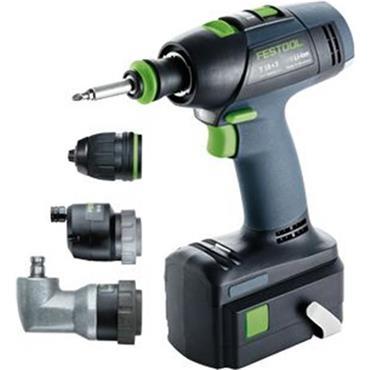 Festool 574759 T18+3 18 Volt Lithium-Ion Drill Driver Set, 1 x 5.2Ah Batteries