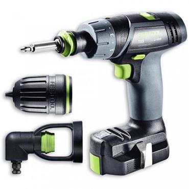 Festool 564512 TXS 10.8 Volt Drill Driver Set, 2 x 2.6Ah Batteries