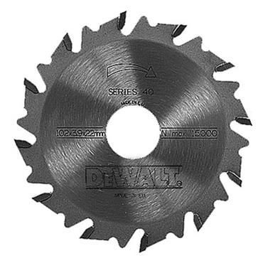 DeWALT 102 x 22 x 12T Extreme Biscuit Jointer Blade - DT1306-QZ
