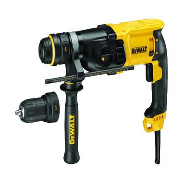 DeWALT D25134K 3 Mode SDS Plus Hammer Drill with Quick Change Chuck
