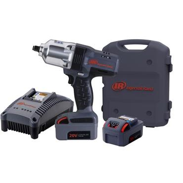 "Ingersoll Rand W7150EU 20 Volt 1/2"" High Torque Impact Wrench,  2 x 3.0Ah Batteries"