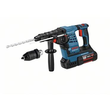 Bosch GBH 36 VF-LI 36 Volt SDS Plus Rotary Hammer Drill, 2 x 4.0Ah Batteries