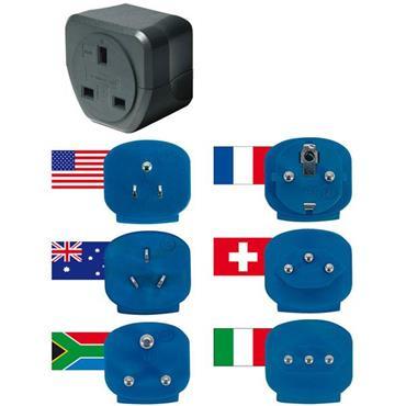 Brennenstuhl 1508063 GB Travel Adapter Plugs