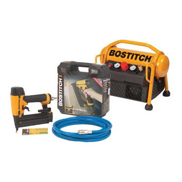 Bostitch MRC6/BT-U Compressor and Brad Nailer Combo Pack