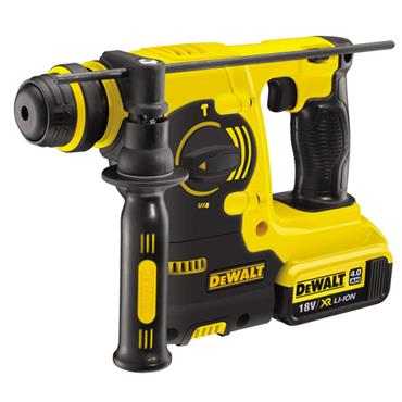 DeWALT DCK206M2T 18 Volt Rotary SDS and Hammer Drill Twin Pack, 2 x 4.0Ah Batteries