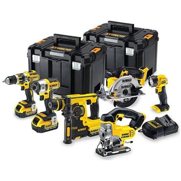 DeWALT DCK699M3T 18 Volt 6 Piece Kit, 3 x 4.0Ah Batteries