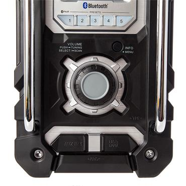 Makita DMR106 7.2 - 18 Volt Jobsite Radio with Bluetooth and USB Charger - Black