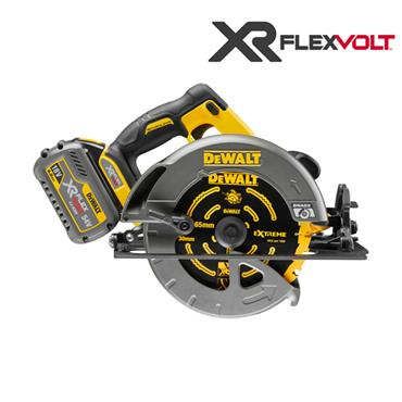 DeWALT DCS575T2 54 Volt XR Flexvolt Circular Saw Kit, 2 x 6.0Ah Batteries