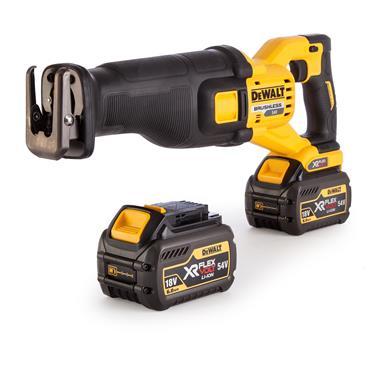 DeWALT DCS388T2 54 Volt Flexvolt Reciprocating Saw, 2 x 6.0Ah Batteries