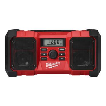 Milwaukee M18JSR-0 M18 18 Volt Jobsite Radio Body Only