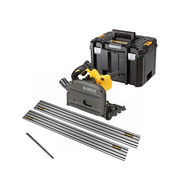 DeWALT DCS520T2 54 Volt XR Flexvolt Plunge Saw Kit, 2 x 6.0Ah Batteries