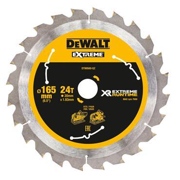 DeWALT 165 x 20 x 24T, Extreme Runtime Saw Blade - DT99560