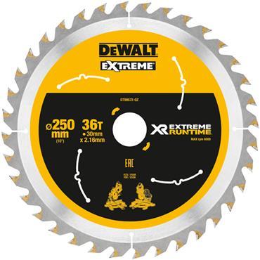 DeWALT 250 x 30 x 36T, Extreme Runtime Saw Blade - DT99572