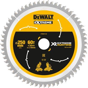 DeWALT 250 x 30 x 60T, Extreme Runtime Saw Blade - DT99573