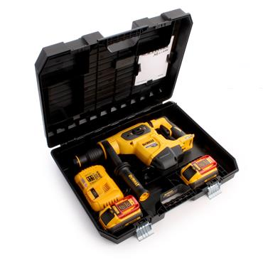 DeWALT DCH481X2 54 Volt Brushless SDS Max Hammer Kit, 2 x 9.0Ah Batteries