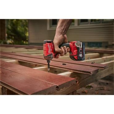 """Milwaukee M18FQID-0 18 Volt 1/4"""" Hex Hydraulic Impact Driver Body Only"""