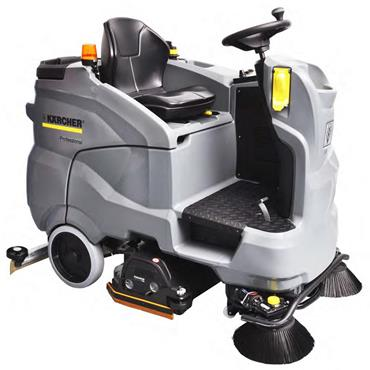 Karcher B 150 R Dose(Disc) 150 Litre Ride On Scrubber Drier