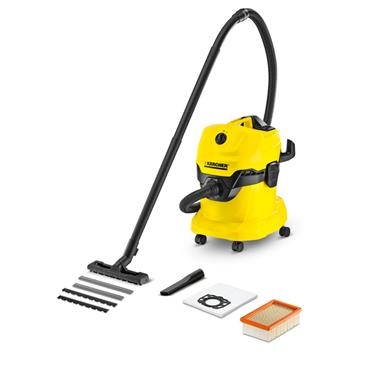 Karcher WD4 220 - 240 Volt Premium Wet and Dry Vacuum Cleaner