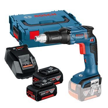 Bosch GSR 18 V-EC TE Professional 18 Volt Drywall Screwdriver, 2 x 2.0Ah Batteries