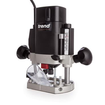 "Trend T5ELB 1000 Watt 1/4"" Variable Speed Router"